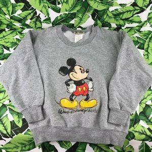 5 for $25 Walt Disney World Gray Mickey Sweater